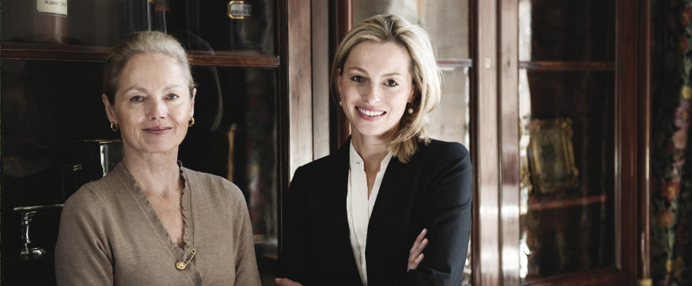 Charlotte und Elisabeth Nüdling